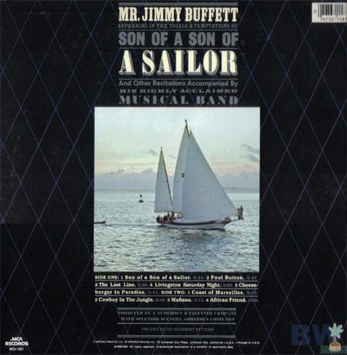 Son Of A Son Of A Sailor » Jimmy Buffett World