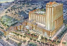 Artists rendering of Margaritaville Casino in Biloxi