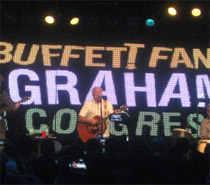 Buffett Playing Rally Tonight for Gwen Graham