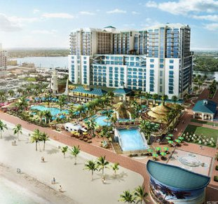 The Miami Herald Has An Update On Margaritaville Beach Resort Under Construction In Hollywood Florida
